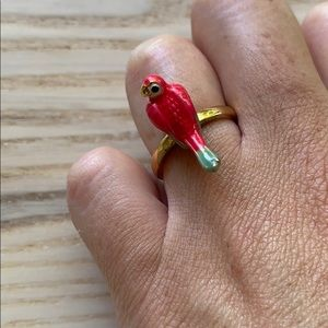 Pink parrot ring - Juicy Couture